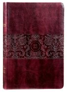 TPT New Testament Large Print Burgundy (With Psalms Proverbs And The Song Of Songs)