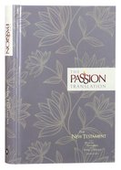 TPT New Testament Floral 2nd Edition (With Psalms Proverbs And Song Of Songs) Hardback