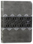 TPT New Testament Compact Charcoal (Black Letter Edition) (With Psalms Proverbs & Song Of Songs) Imitation Leather