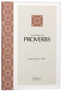 TPT Proverbs: Wisdom From Above (Black Letter Edition) (2nd Edition) Paperback