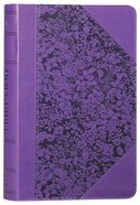 KJV Giant Print Bible Purple Red Letter Edition Imitation Leather