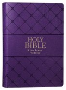 KJV Super Giant Print Bible Purple Red Letter Edition Imitation Leather