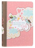 Pocket Bible Devotional For Girls:366 Daily Readings Birds, Pink Hearts