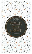 2019 Small Daily Diary/Planner: Walk in the Light
