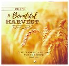 2019 Small Calendar: A Bountiful Harvest