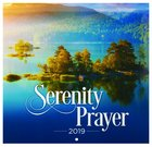 2019 Large Calendar: Serenity Prayer