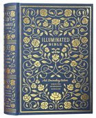 ESV Illuminated Bible Art Journaling Edition Blue (Black Letter Edition)