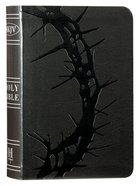 NKJV Large Print Compact Reference Bible Charcoal Red Letter Edition