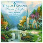 2019 Mini Wall Calendar: Thomas Kinkade Painter of Light