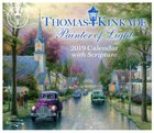 2019 Desktop Calendar: Thomas Kinkade Painter of Light Day to Day