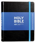 NIV Journalling Bible Black With Unlined Margins Hardback