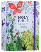 NIV Journalling Bible With Elastic Strap (Illustrated By Hannah Dunnett) Hardback