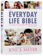 The Amplified Joyce Meyer New Everyday Life Bible Hardback