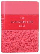 Amplified Joyce Meyer New Everyday Life Bible Pink Imitation Leather