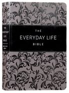 Amplified Joyce Meyer New Everyday Life Bible Gray Imitation Leather
