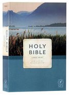 NLT Economy Outreach Bible Large Print (Black Letter) Paperback