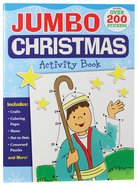 Jumbo Christmas Activity Book Paperback
