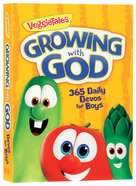 Growing With God: 365 Daily Devos For Boys (Veggie Tales (Veggietales) Series)