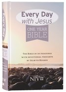 NIV Everyday With Jesus One Year Devotional Bible Hardback