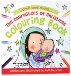 The Characters of Christmas Colouring Book Paperback