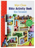 New Testament (Wipe Clean Activity Book Series) Paperback