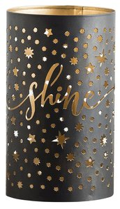Christmas Shine Luminary Candle Holder (Candle Not Included)