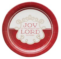 Christmas Paper Plates: Joy to the World (Pack Of 8)
