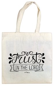 Cloth Bag: Trust in the Lord, Cream