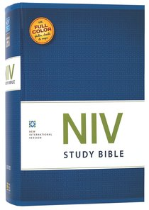 NIV Study Bible Regular (Red Letter Edition)