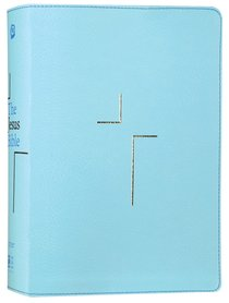 NIV the Jesus Bible Blue Comfort Print Edition (Black Letter Edition)