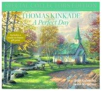 2019 Wall Calendar: Thomas Kinkade Special Collectors Edition a Perfect Day