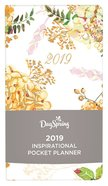 2019 Premium Pocket Weekly Diary/Planner: Floral, the Beauty of His Word Collection