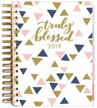2019 18-Month Diary/Planner: Truly Blessed