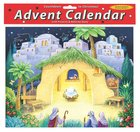 Advent Calendar With Stickers: Nativity Scene