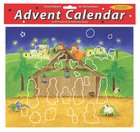 Advent Calendar With Stickers: Magnificent Manger Calendar