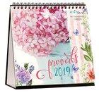 2019 Table Calendar: Proverbs