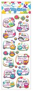 Puffy Stickers: Wise Owl Series (1 Sheet Per Pack)