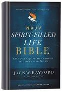 NKJV Spirit-Filled Life Bible Third Edition (Red Letter Edition)