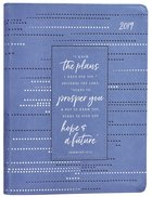 2019 Large 18-Month Diary/Planner: Blue