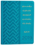 2019 Large 18-Month Diary/Planner: Teal