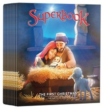 Superbook - the First Christmas Ministry Pack (10 Dvds)