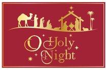 Christmas Pass-Around Cards: O Holy Night Nativity (25 Pack)