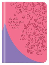 Leather Lux Journal: Be Still