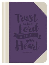 Leather Lux Journal: Trust in the Lord