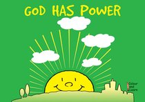 God Has Power (Learn About God And Colouring Series)