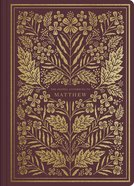ESV Illuminated Scripture Journal Matthew (Black Letter Edition) Paperback