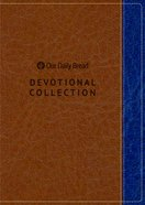 2019 Devotional Collection (Navy and Walnut) (Our Daily Bread Series)