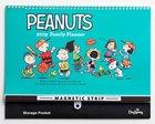 2019 16-Month Family Calendar/Planner: Peanuts