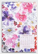 2019 Spiral Wall Calendar: Modern Maker, Uniquely Created Collection