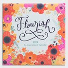 2019 Wall Calendarl: Flourish